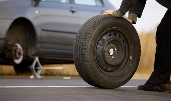 Spare tire the most important item on every long trip