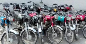 Gujranwala 2 dozen bikes recovered, bike lifter gang arrested.