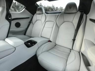 Maserati GranTurismo 2018 Back Seats
