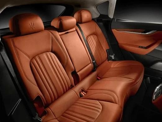 Maserati Levante 2018 Back Seats