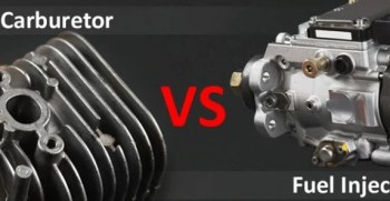 carburetor Engine VS Fuel Injector Engine