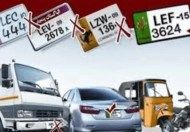 Ban on illegal Number plates in lahore