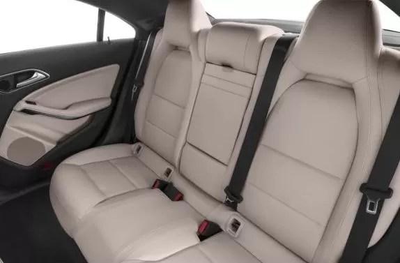 Mercedes AMG CLA45 2018 Back Seats