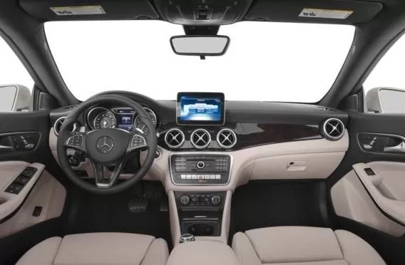 Mercedes AMG CLA45 2018 Steering And Transmission