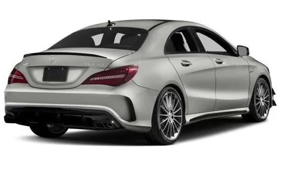 Mercedes AMG CLA45 2018 Title Image