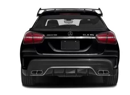 Mercedes AMG GLA45 2018 Back Image