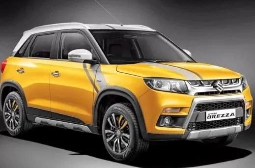 Suzuki Vitara Brezza Best selling SUV in India