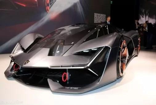 The Lamborghini Terzo Millennio Is Geneva's Most Aggressive Concept Car
