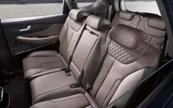 Hyundai Santa Fe 2019 Back Seats