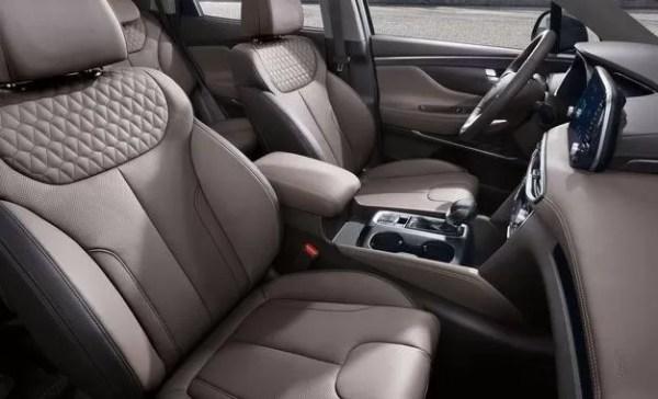 Hyundai Santa Fe 2019 Front Seats
