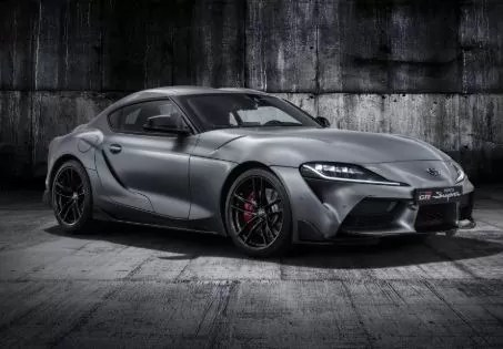 Toyota Supra iconic Sport's car of Toyota Back into race