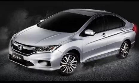 Honda City 2019 Side view