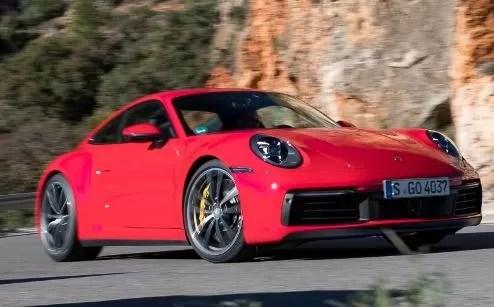Facelift of Porsche 911 2020 Turbo Spied