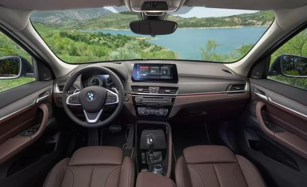 2020 BMW X1 Series front interior cabin full view