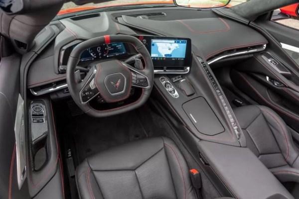 2020 Chevrolet corvette beautiful interior cabin front