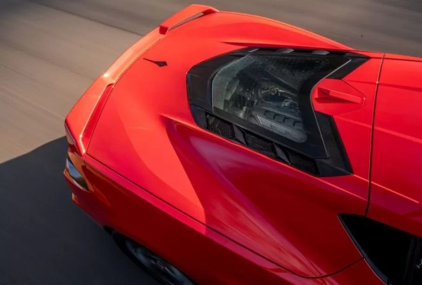 2020 Chevrolet corvette engine view-2