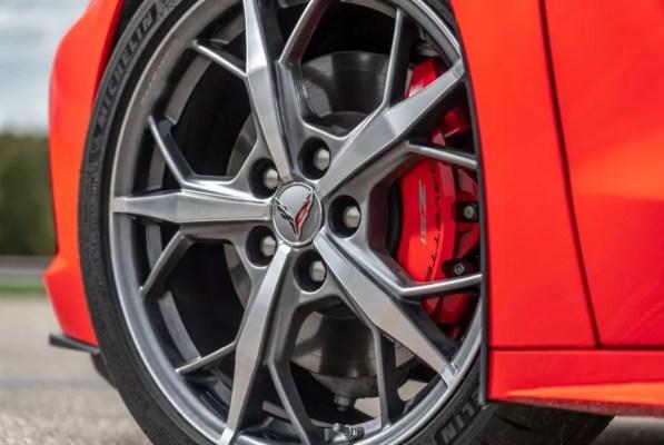 2020 Chevrolet corvette wheel