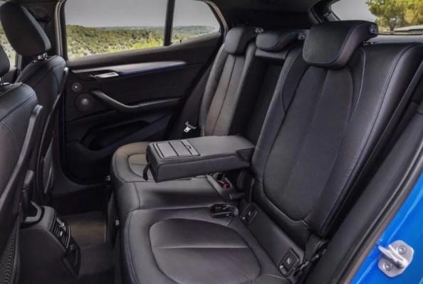 BMW 2 Series X2 SUV rear seats 1