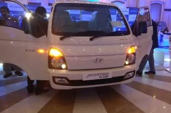 2020 Hyundai Porter H 100 front view