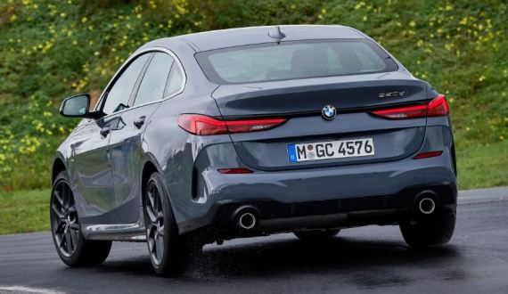 BMW 2 Series Gran Coupe 1st Generation Rear view