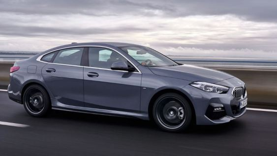 BMW 2 Series Gran Coupe 1st Generation side view