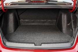 7th Generation Honda City luggage area view