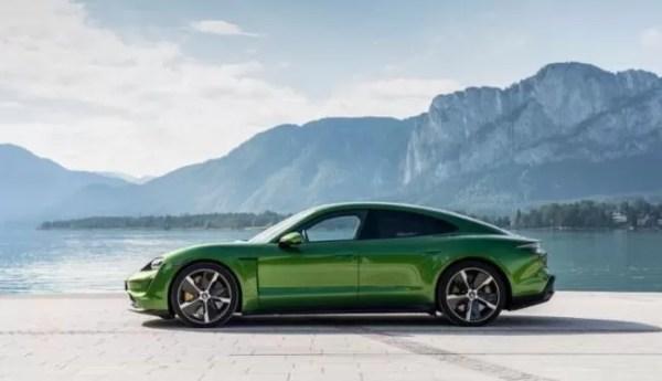 Porsche Taycan won the award for green car of year in china