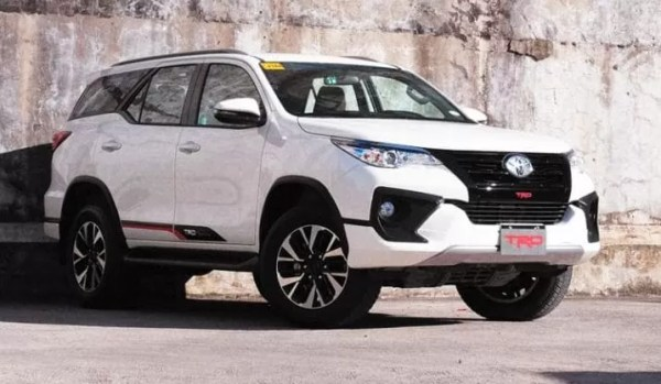 Toyota Fortuner TRD Limited Edition Pakistan title image