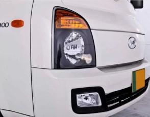 4th Generation Hyundai Porter H 100 Pickup Truck headlamps and fog lights