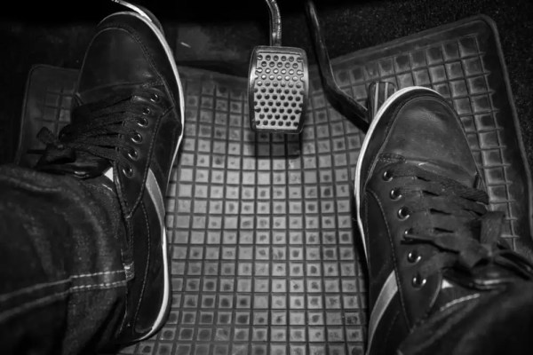 Never rest your foot on the Clutch pedal