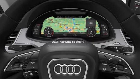 2nd Generation audi Q7 SUV virtual cockpit