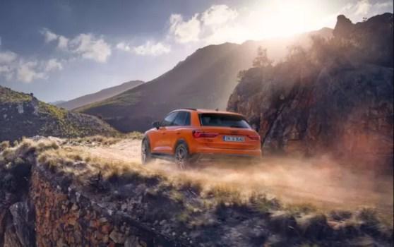 2nd generation Audi Q3 SUV adventure view