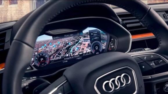 2nd generation Audi Q3 SUV instrument cluster