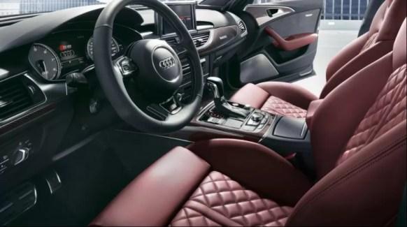 4th generation Audi A6 S6 sedan front cabin interior
