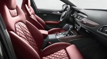 4th generation Audi A6 S6 sedan front seats