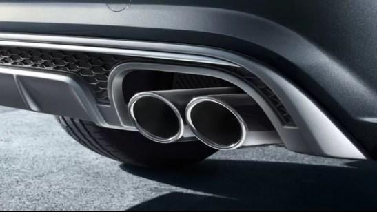 4th generation Audi A6 sedan exhaust pipes