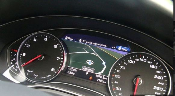 4th generation audi a6 s6 saloon instrument cluster