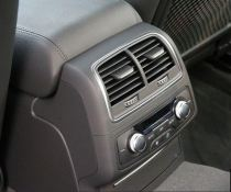 4th generation audi a6 s6 saloon rear air vents and controls
