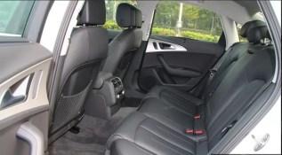 4th generation audi a6 s6 saloon rear seats view