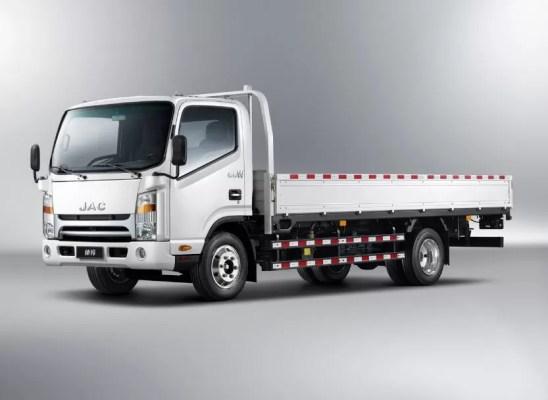 JAC HFC 1042k Pick Truck title image