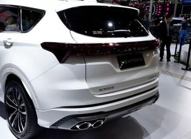 2nd Generation Jetour X70 Plus Rear view