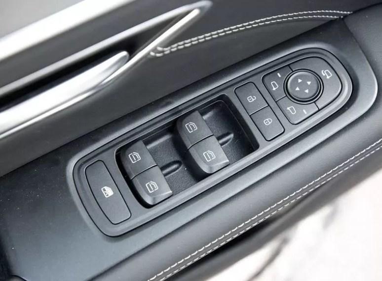2nd Generation Jetour X70 Plus door controls