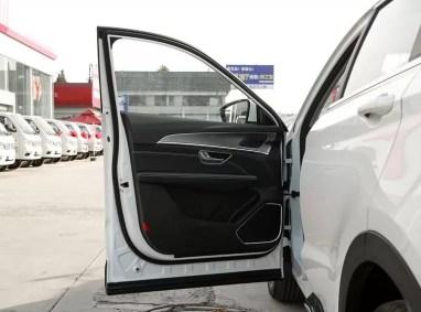 2nd Generation Jetour X70 Plus door panels inside