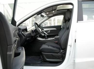 2nd Generation Jetour X70 Plus front seats view