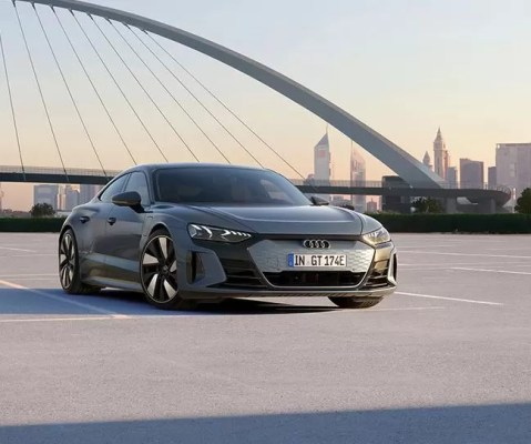 1st generation Audi E tron GT All Electric Sedan title image