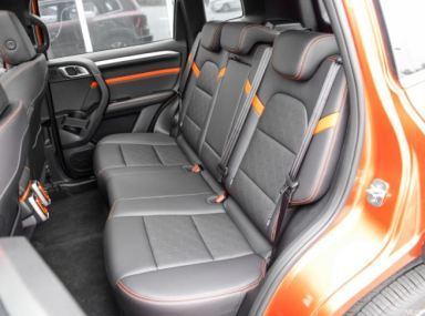 1st generation Haval Big Dog SUV rear seats view