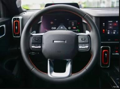 1st generation Haval Big Dog SUV steering wheel view