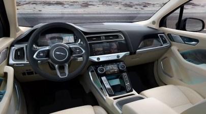 1st generation Jaguar i pace all Electric SUV elegant interior features