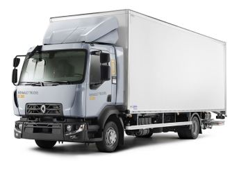 Renault D 280 Commercial Medium Truck full view