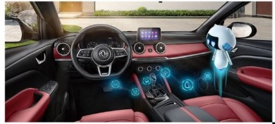 1st generation DFSK Glory 500 suv interior features